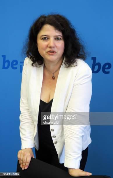 Historikerin Anja Siegemund aufgenommen bei einer Pressekonferenz im Roten Rathaus in Berlin Mitte Siegemund wird ab 1 September die neue Direktorin...