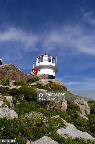 Historischer Leuchtturm am Cape Point am Kap der Guten Hoffnung bei Kapstadt Südafrika Afrika Reise NB DIG PNr 1299/2005