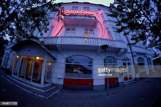 Historisches Hotel Saxildhus in der dänischen Stadt Kolding