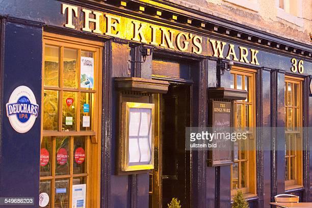 historisches Lokal The King's Wark in EdinburghLeith