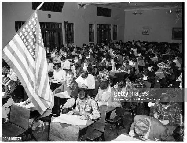 History Contest Belmont High School 7 November 1951 Lawrence Schnitzer 17 yearsAnthony Plaia 17 yearsMarilyn Kindy 16 yearsSandra Pizer 17...