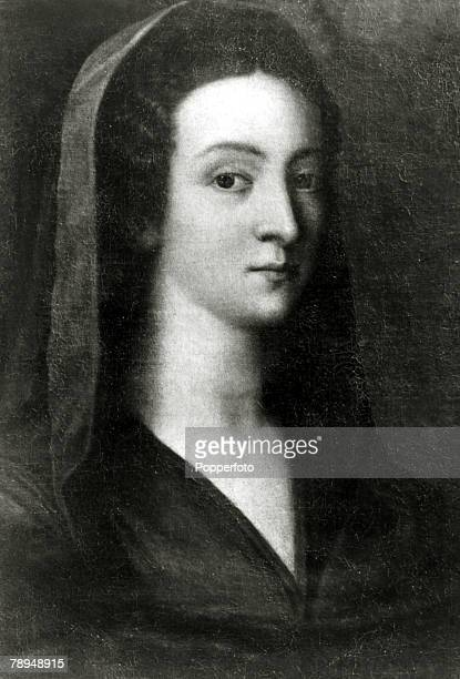 History Illustration, English Royalty, pic: circa 1520, Anne Boleyn, the second wife of King Henry VIII who reigned 1509-1547, She was executed after...