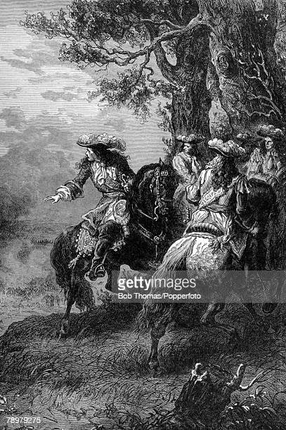 1690 This illustration is entitled James II at the Battle of the Boyne James II and the Catholic forces were defeated by the Protestant army of...