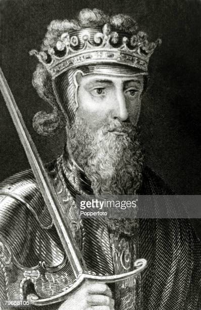 History Illustrations English Royalty pic circa 1350This illustration shows King Edward III who reigned in England for fifty years from 13271377
