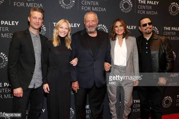 UNIT History Is Made Law Order SVU Celebrates a Milestone Pictured Peter Scanavino Kelli Giddish Dick Wolf Creator and Executive Producer Mariska...