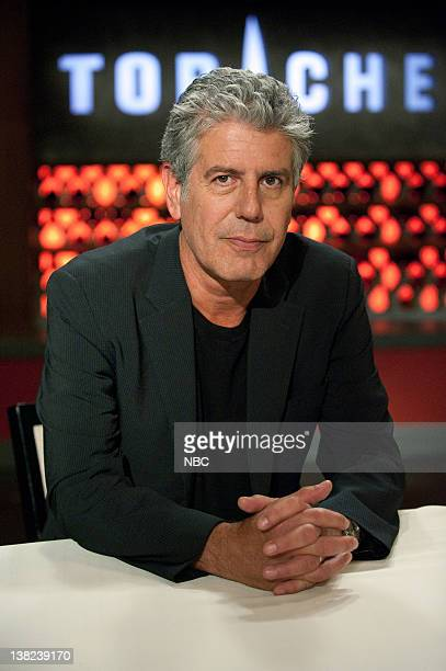 TOP CHEF 'History Never Repeats' Episode 801 Pictured Judge Anthony Bourdain