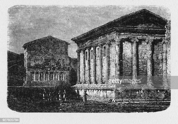 History of Ancient Rome Temple of Portunus is an ancient building in Rome Italy the main temple dedicated to the god Portunus in the city