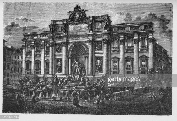 History of Ancient Rome Trevi Fountain is a fountain in the Trevi district in Rome Italy designed by Italian architect Nicola Salvi and completed by...