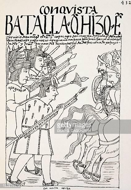 History of Exploration 16th century South America Peru Battle of Cuzco Inca Emperor Manco Capac besieging Cuzco occupied by Conquistadores 1536...