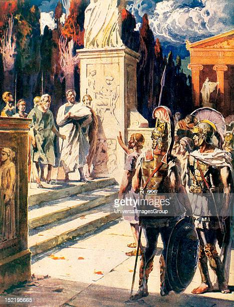 History of Greece The Spartans and Tyrtaeus According to the oracle of Delphi the Spartans could only beat the Messenians if they were commanded by...
