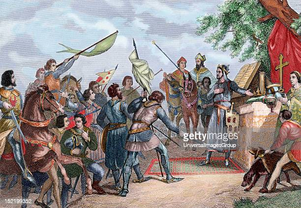 History of Spain Day before of the Battle of Las Navas de Tolosa in which Alfonso VIII of Castile defeated the Almohad army of Caliph alNasir...