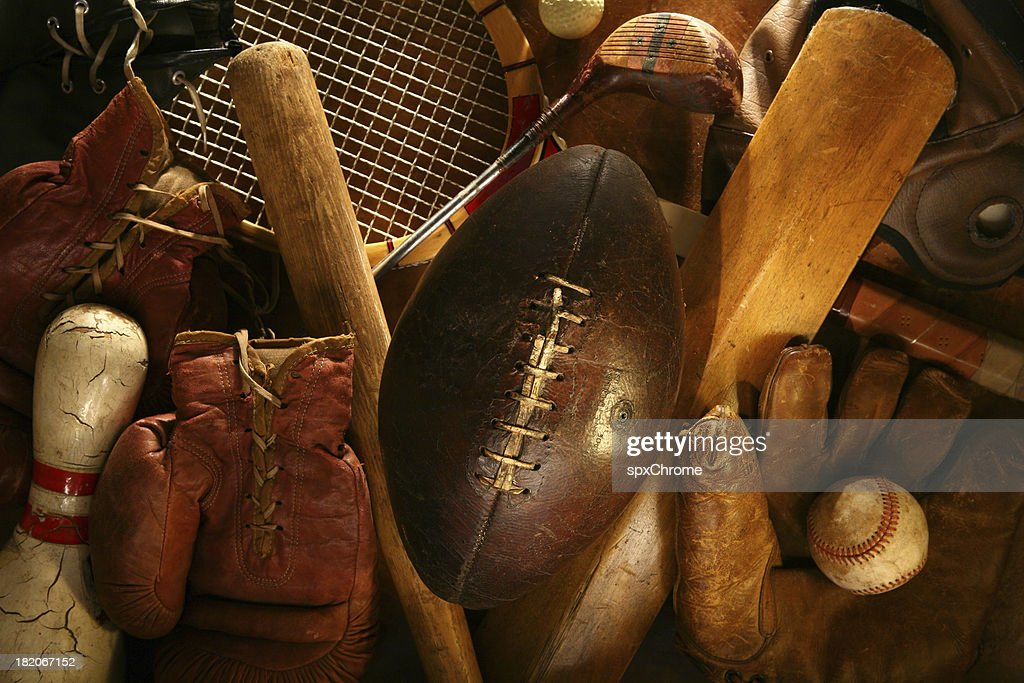 History of Sports : Stock Photo