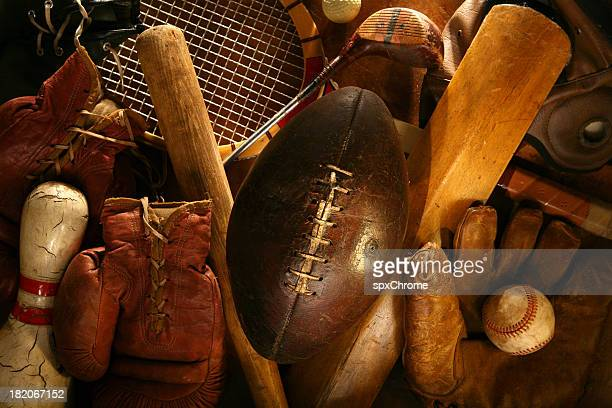 history of sports - sports equipment stock pictures, royalty-free photos & images