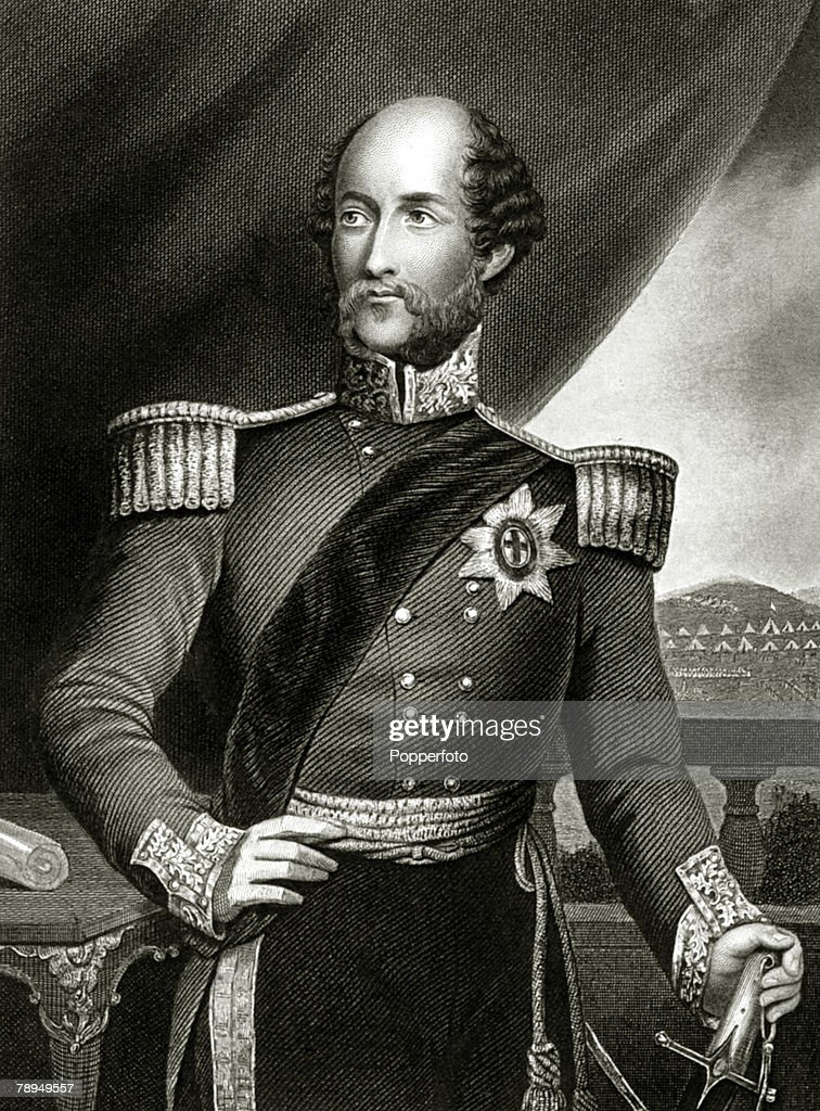 History Personalities. British Royalty. pic: 1850's. This illustration shows HRH. The Duke of Cambridge, (1819-1904). : News Photo