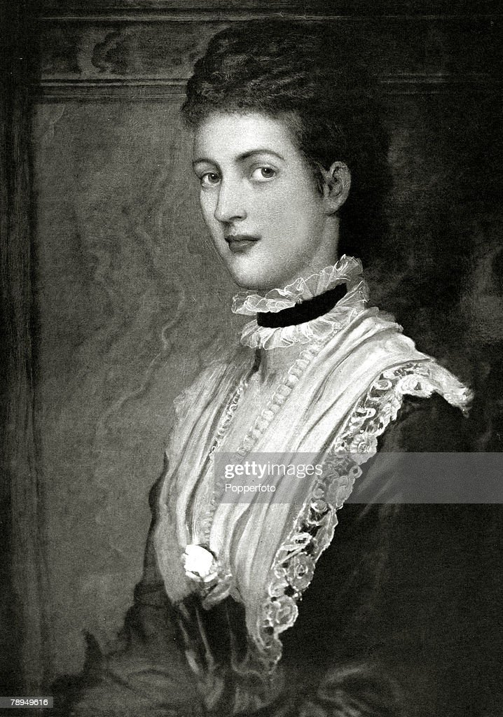 History Personalities. British Royalty. pic: 1860. Alexandra,Princess of Denmark, who married Edward, Prince of Wales in 1863. Queen Alexandra, (1844-1925)in her early days a Danish Princess, later Queen Consort to King Edward VII, (1841-1910) was a very  : News Photo
