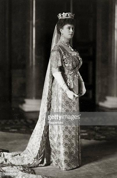 History Personalities British Royalty pic 1913 HMQueen Mary portrait Queen Mary born Mary of Teck became Queen Consort when her husband King George V...