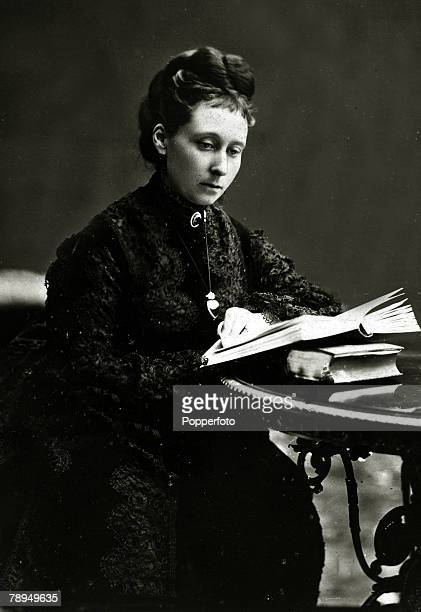 History Personalities British Royalty pic 19th century Princess Alice daughter of Queen Victoria who in 1862 married Prince Louis of HesseDarmstadt