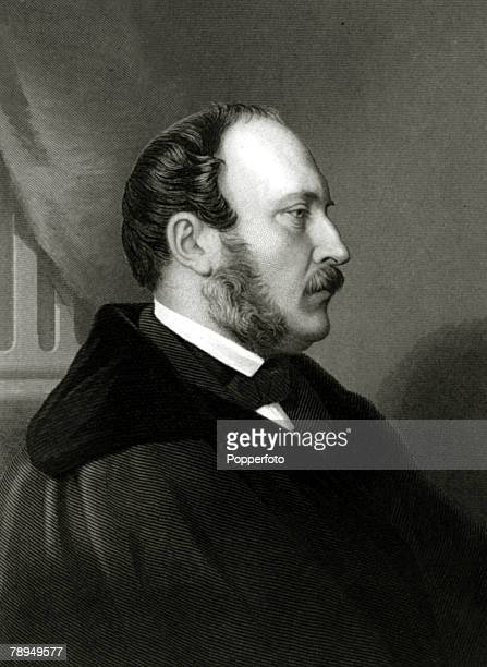History Personalities British Royalty pic circa 1850's Prince Albert portrait Prince Albert a Prince of Saxe Coburg Gotha married Queen Victoria in...