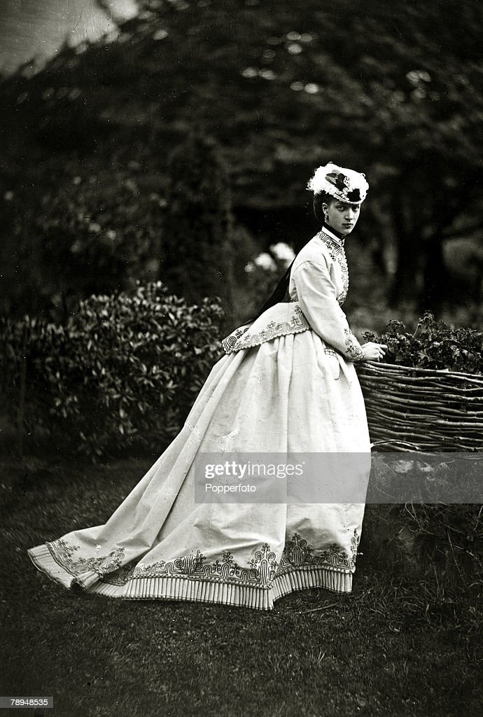 History Personalities, British Royalty, pic: circa 1863, Alexandra,Princess of Wales, who married Edward, Prince of Wales in 1863, Queen Alexandra, (1844-1925)in her early days a Danish Princess, later Queen Consort to King Edward VII, (1841-1910) was a very popular royal who contributed much to charity work
