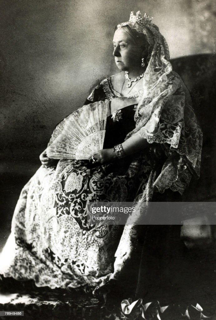 History Personalities. British Royalty. pic: circa 1880's. Queen Victoria, portrait. Queen Victoria, (1819-1901) who reigned from 1837-1901, who during her reign saw Great Britain extend her empire across the world and be a leader on the world stage. She  : News Photo