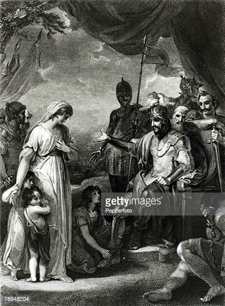 History Personalities English Royalty pic circa 880 This illustration shows King Alfred the Great who ruled 871899 liberating the family of Hastings...