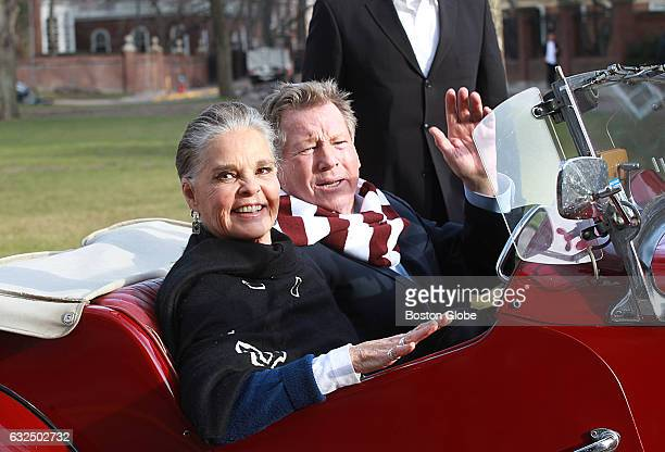 History repeats itself as Ali MacGraw and Ryan O'Neal stars of the iconic Harvardbased 1970 film 'Love Story' return to the campus on Feb 1 2016 They...