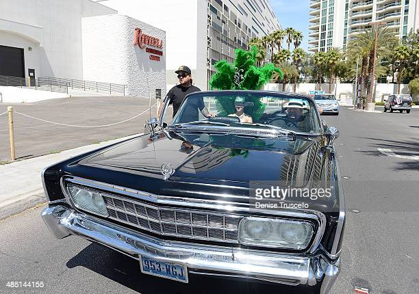 History's Pawn Stars Chumlee and Richard Harris drive down the Las Vegas strip with the cast of PAWN SHOP LIVE! to the Riviera Hotel & Casino on...