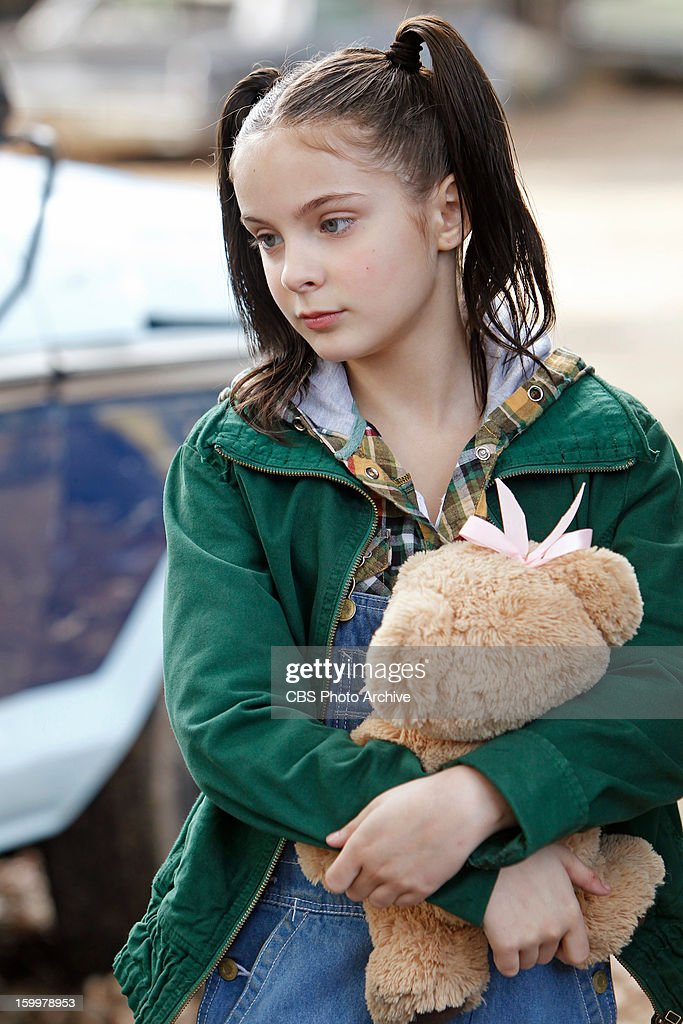 'Hit and Run' -- The NCIS team investigates a Marine'™s car accident and ignites some upsetting past memories for Abby as a young girl (Brighton Sharbino, pictured) on the trail of her first 'œcase,' on NCIS, Tuesday, Jan. 29 (8:00-9:00 PM, ET/PT) on the CBS Television Network.