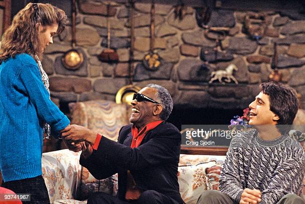 S THE BOSS 'Hit the Road Chad' Season Three 2/3/87 Samantha and Tony met Angela's new ad campaign client entertainer Ray Charles