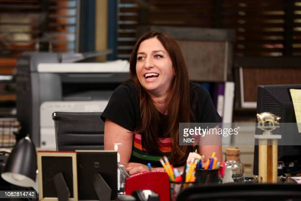 NINE Hitchcock Scully Episode 602 Pictured Chelsea Peretti as Gina Linetti