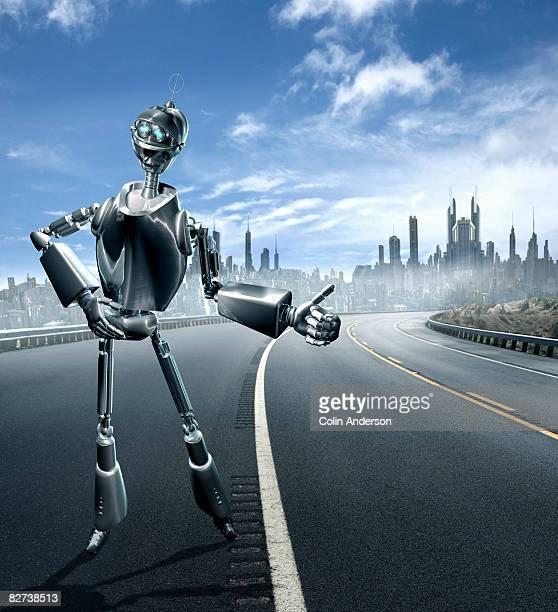 hitchhiking robot