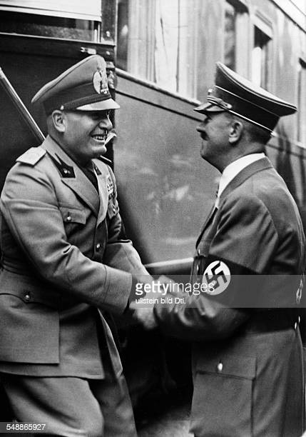 Hitler, Adolf - Politician, NSDAP, Germany *20.04.1889-30.0.1945+ Germany, Third Reich Negotiations during the Munich Conference 1938 Adolf Hitler...