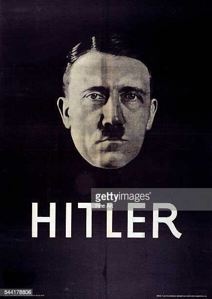 Hitler election poster 1932