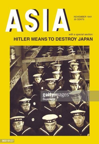 Hitler Means to Destroy Japan World War II poster
