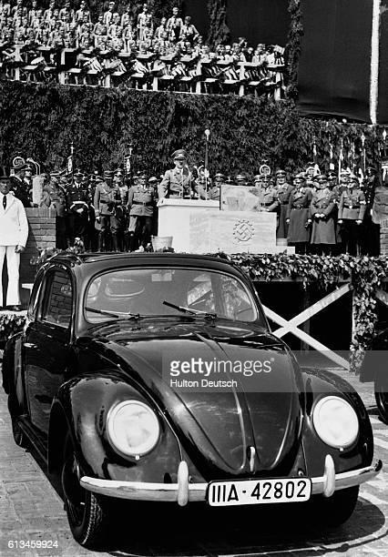 Hitler Opening Volkswagen Factory