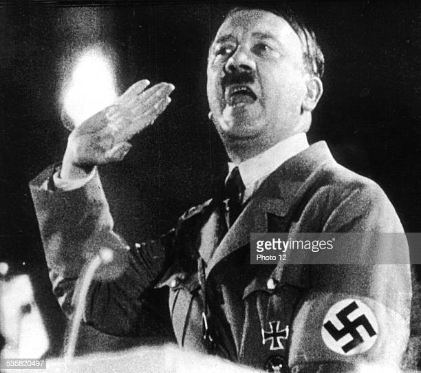 picture from Leni Riefenstahl's movie Triumph of the will Germany