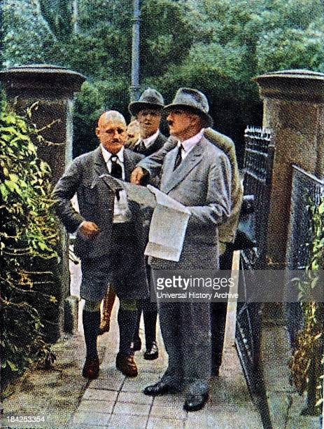 Hitler with Julius Streicher a prominent Nazi prior to World War II He was the founder and publisher of Der Stürmer newspaper which became a central...