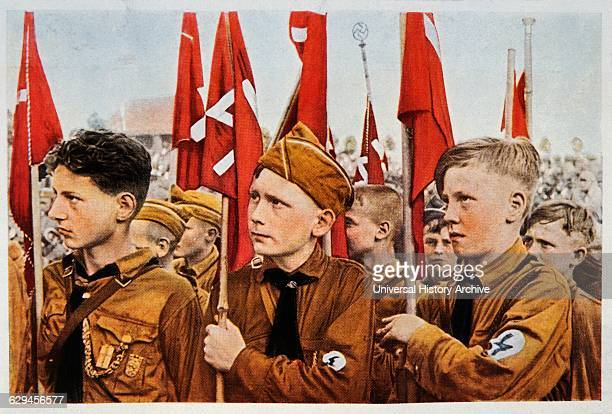 Hitler Youth Germany Illustration circa 1933
