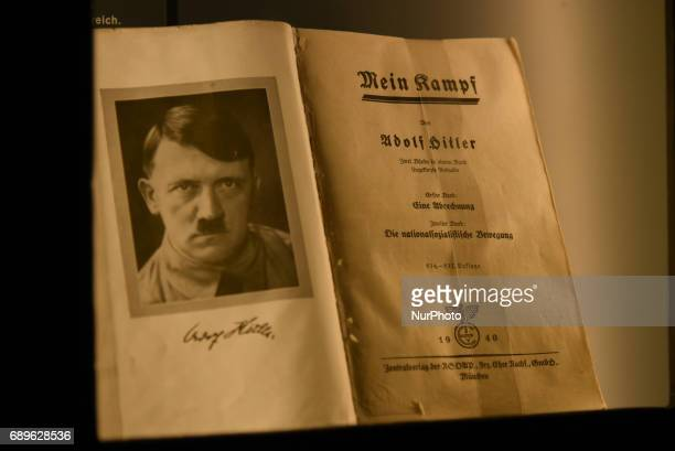 Hitler's book Mein Kampf The Nazi party rally grounds covered about 11 square kilometres in the southeast of Nuremberg Germany Six Nazi party rallies...