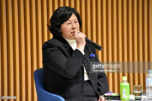 Hitomi Soga former abductee by North Korean talks during a session 40 years after Megumi Yokota was snatched by North Korean agents on November 15...