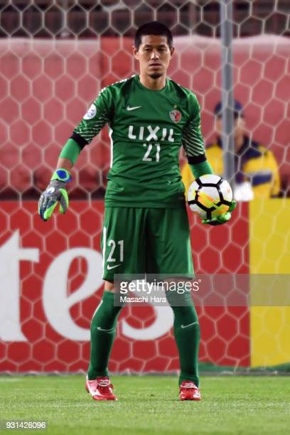 Hitoshi Sogahata of Kashima Antlers in action during the AFC Champions League Group H match between Kashima Antlers and Sydney FC at Kashima Soccer...