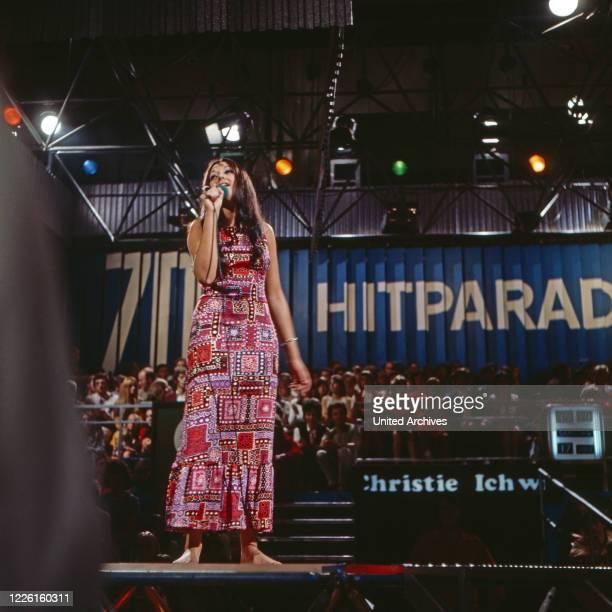 ZDF Hitparade Musiksendung Deutschland 1969 2000 Mitwirkende Jennifer Christie