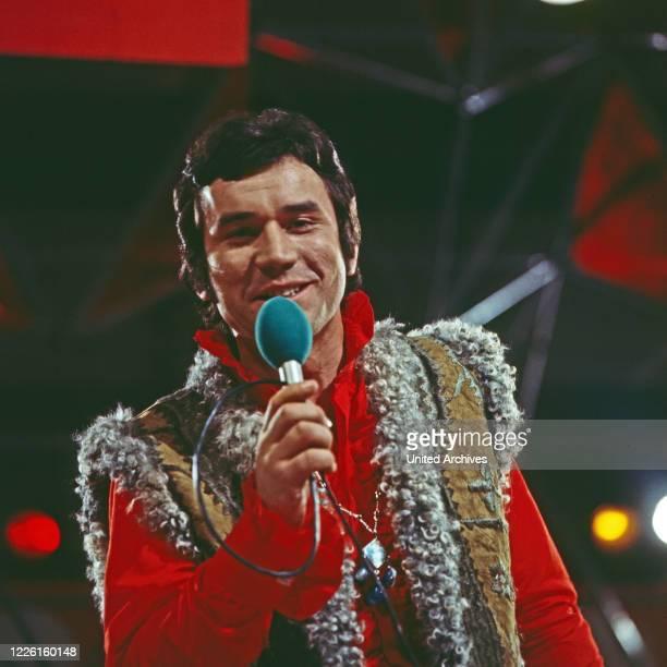 Hitparade, Musiksendung, Deutschland 1969 - 2000, Miwirkende: Peter Beil.