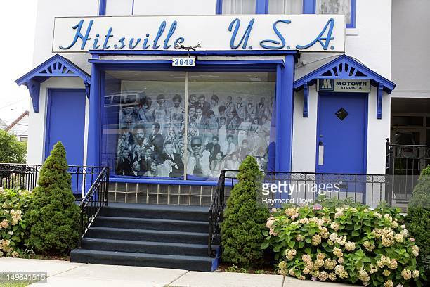 Hitsville USA original home of Motown Records in Detroit Michigan on JULY 22 2012