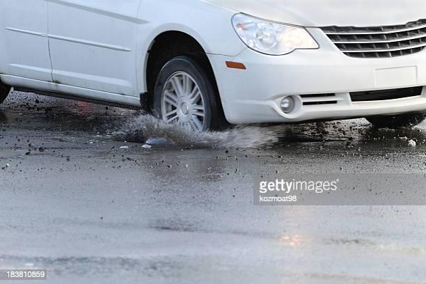 Hitting A Pothole