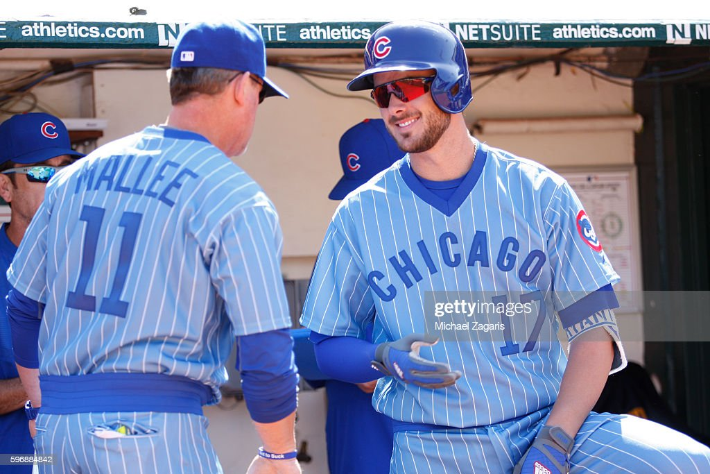 Chicago Cubs v Oakland Athletics : News Photo