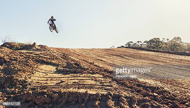 hitting the ramp at high speed - scrambling stock photos and pictures