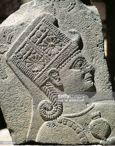 Hittite civilization 9th8th century bC Basalt slab with relief depicting the head of a young prince From Carchemish Turkey