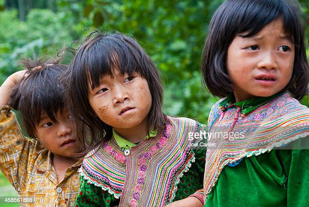 hmong 少女 - ミャオ族 ストックフォトと画像