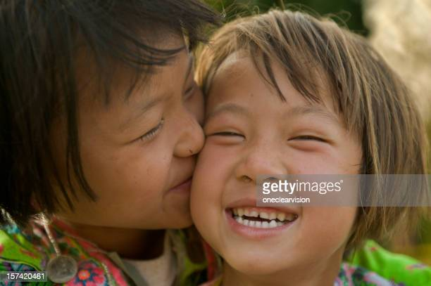 Hmong Hill Tribe Girls